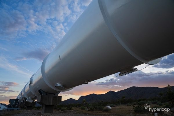 Virgin Hyperloop Announces Agreement to Conduct Hyperloop Feasibility Study