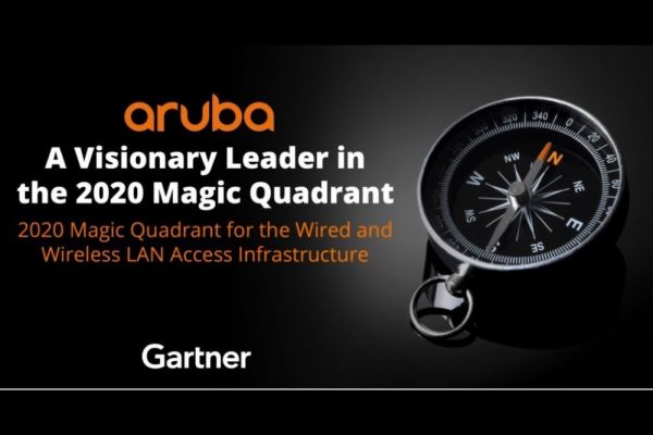 HPE (Aruba) Positioned as a Leader in Gartner Magic Quadrant for Wired
