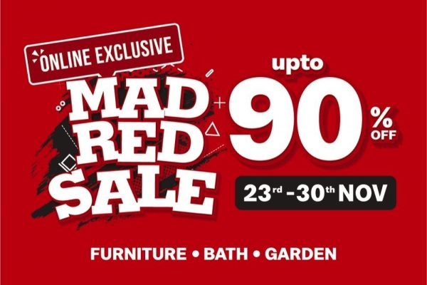 Mad Red Sale 2020 @ Danube Home.com