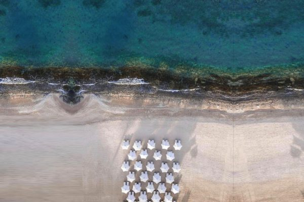 Breathtaking Bird Eye View for Baron Palace Sahl Hasheesh Beach
