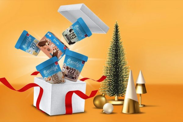 COOL CHRISTMAS TREATS SORTED WITH THE BROOKLYN CREAMERY GUILT-