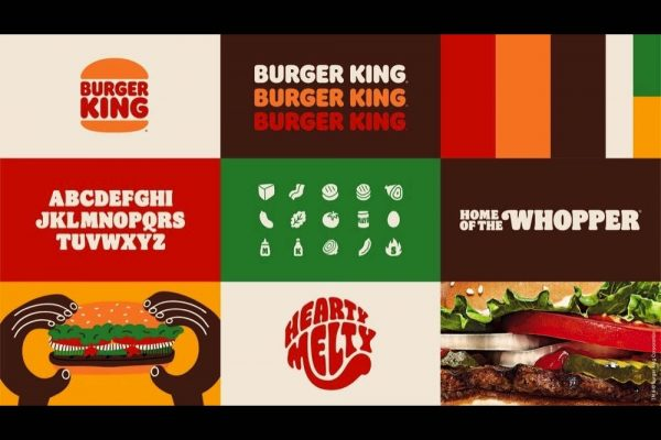 BURGER KING® EVOLVES VISUAL BRAND IDENTITY MARKING