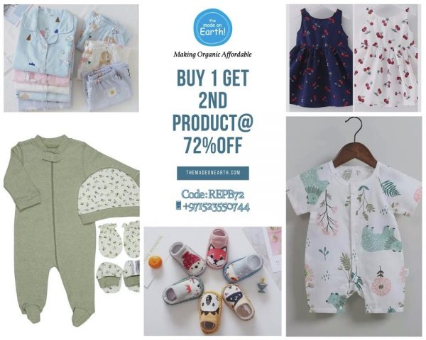Kid's Clothing Brand – Made on Earth Offers 72% Discount