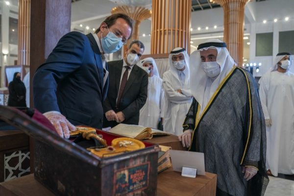 Sultan Al Qasimi inaugurates 'Tales from the East' exhibition