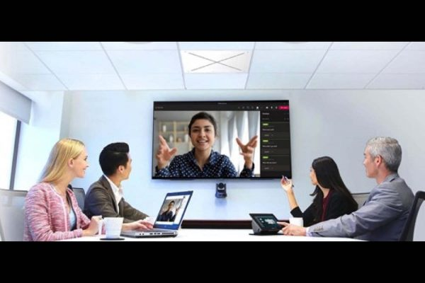 Video conferencing: Sennheiser and QSC help