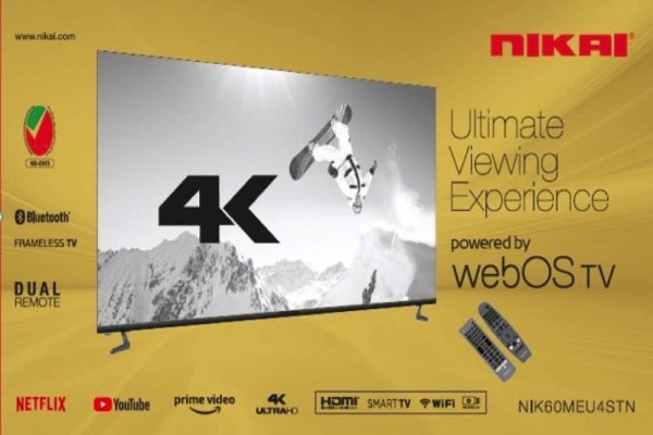 Nikai Launches First WebOS TV in the UAE; Revolutionizing