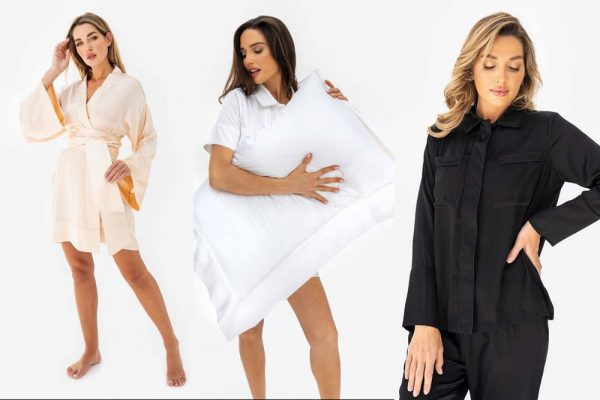 Stay cool this summer in silk loungewear staples from State
